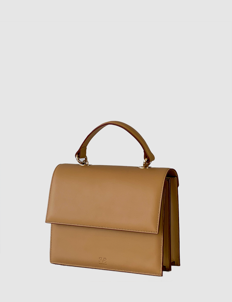 EVE THE LABEL leather medium sized bag