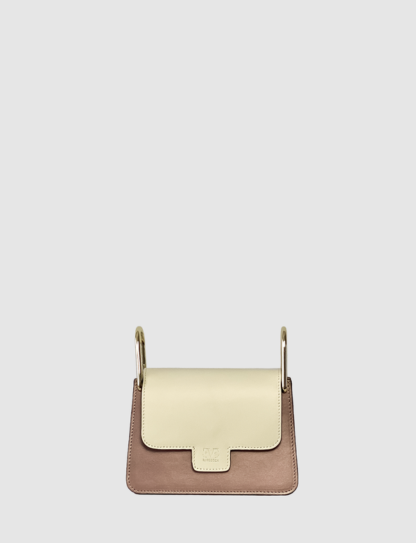 white accessory for bag