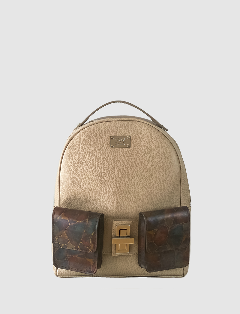 EVE THE LABEL leather backpack