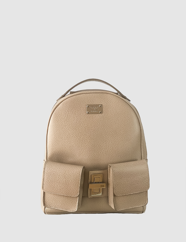 LAUREN Beige backpack