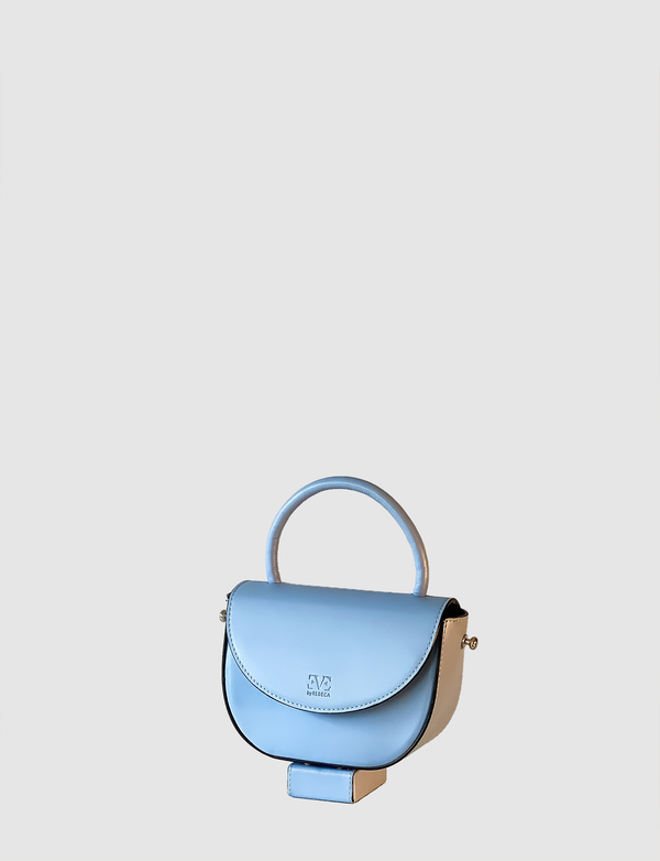 XOXO Blue leather mini bag