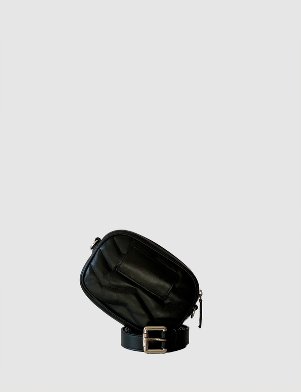 ZAZU Black belt bag