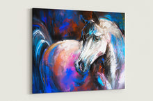 Load image into Gallery viewer, Horse Painting Canvas Print