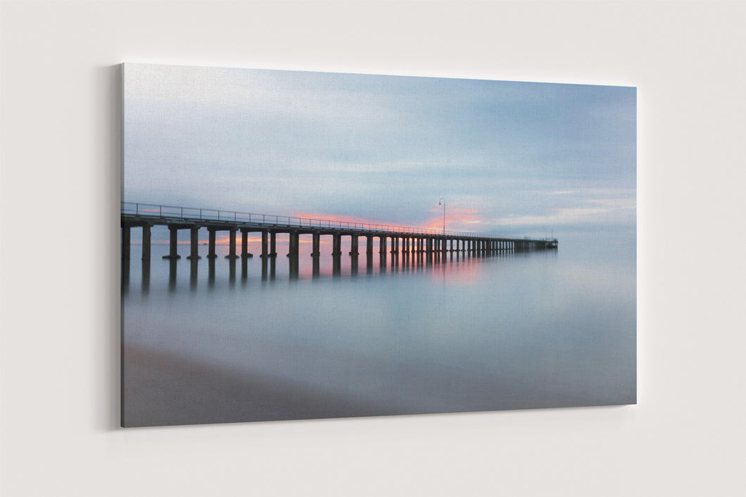 Pier Stretched Canvas