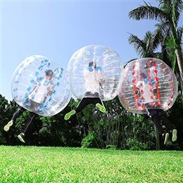 human inflatable bumper bubble balls