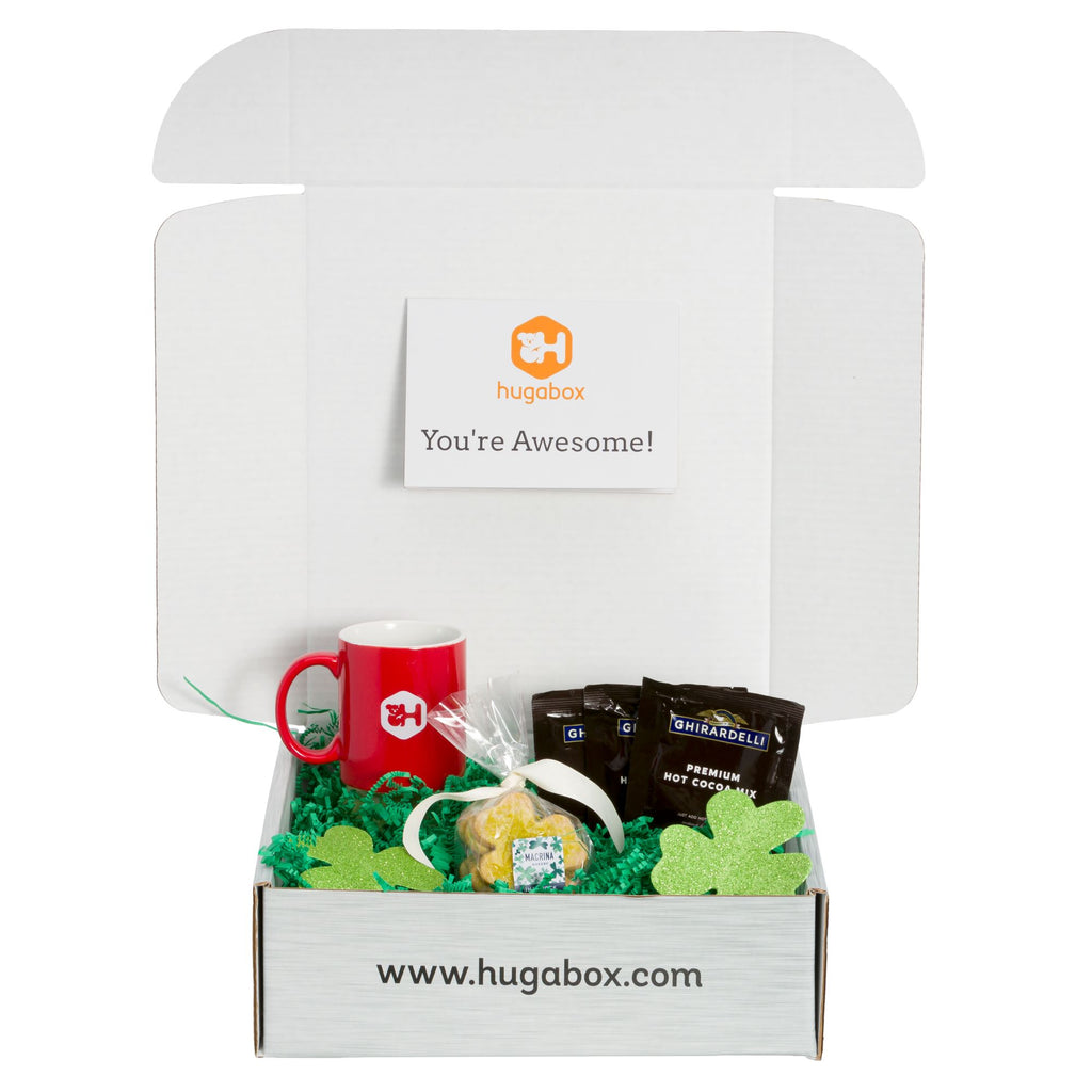 hugabox St. Patrick's Day Care Package