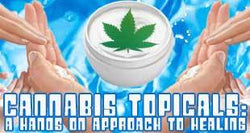 Cannabis Topicals Bypass Psychoactive Effects for Pure Health Focus