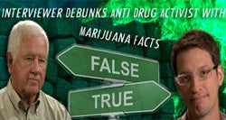 Interviewer Debunks Anti-Drug Activist with Marijuana Facts