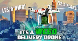 Medical Marijuana Drones: Prepare For Weed Delivery