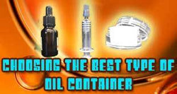 Oil Container Selection is a Matter of Money and Viscosity
