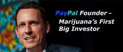 PayPal Founder Invests Millions Into the Marijuana Industry