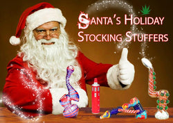 Santa's Holiday Stocking Stuffers From Marijuana Packaging