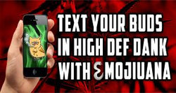 Text Your Best Buds With Emojiuana Kush Keyboard!