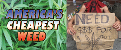 Where Can You Find America's Lowest Prices For Marijuana?