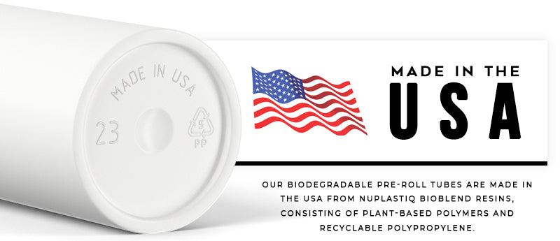 Biodegradable Joint Tubes - Made in the USA   Marijuana Packaging