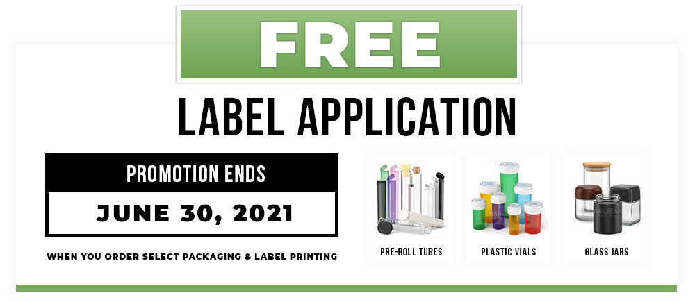 Free Label Application with Packaging Purchase