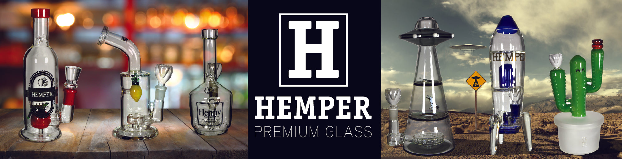 Hemper Co Premium Glass