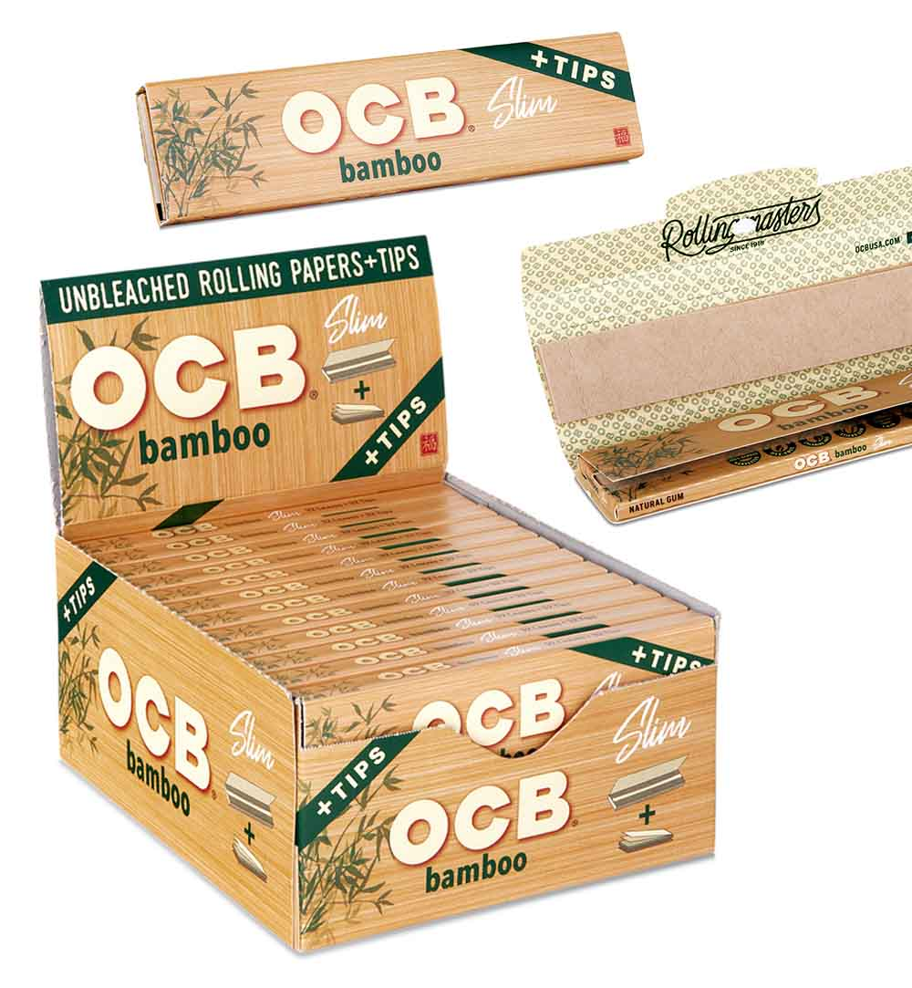 Even OCB's Packaging Exudes Natural, Healthy Vibes