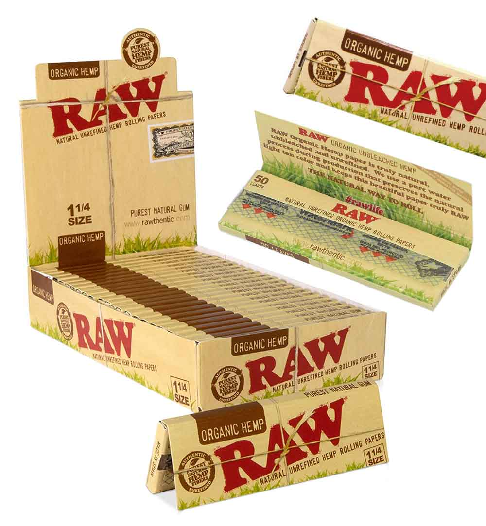 Classic, Clean, Organic RAW Rolling Papers