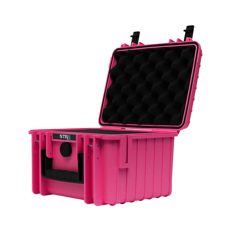 "10"" 3 Layer Electric Pink STR8 Case"