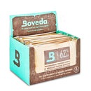 Retail Display | BOVEDA Large Humidity Control Packs | 60 Grams - 62% - 12 Count