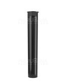 Child Resistant | King Size Pop Top Opaque Plastic Pre-Roll Tubes | 116mm - Black - 1000 Count