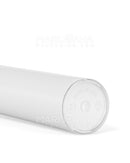 Child Resistant & Sustainable | 100% Biodegradable Pop Top Plastic Pre-Roll Tubes | 116mm - Clear - 1000 Count
