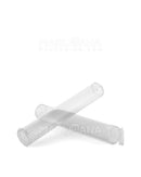 Child Resistant & Sustainable | 100% Biodegradable Clear Pop Top Pre-Roll Tubes | 116mm - Biodegradable Plastic - 1000 Count
