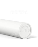 Child Resistant & Sustainable | 100% Biodegradable Pop Top Plastic Pre-Roll Tubes | 116mm - White - 1000 Count