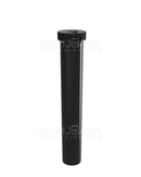 Child Resistant | King Size 'Line-Up Arrow' Pre-Roll Tubes | 116mm - Opaque Black Plastic - 500 Count