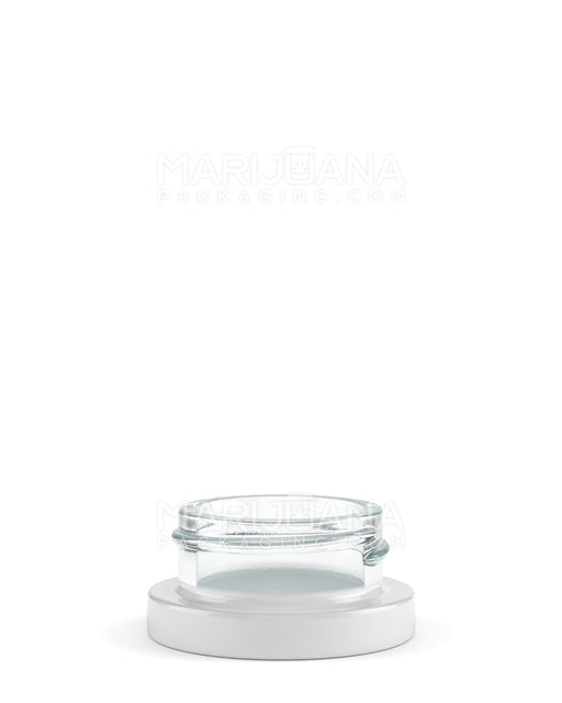 White Glass Concentrate Containers | 38mm - 9ml - 320 Count