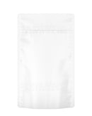 Tamper Evident | Matte White Mylar Bag | 5in x 8.1in - 14g - 1000 Count