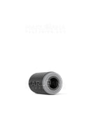 AVD Round Mouthpiece for Glass Cartridge | Black Plastic - Screw On – 100 Count