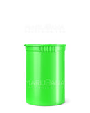 Child Resistant | Opaque Lime Pop Top Bottles | 30dr - 7g - 150 Count