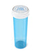 Child Resistant | Blue Reversible Cap Vials | 60dr - 14g - 100 Count