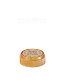 Child Resistant | Opaque Gold Reversible Cap Vials | 30dr - 7g - 190 Count