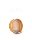 Opaque Gold Reversible Cap 40 Dram - Blank Cap - 150 Count