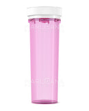 Child Resistant | Pink Reversible Cap Vials | 60dr - 14g - 100 Count