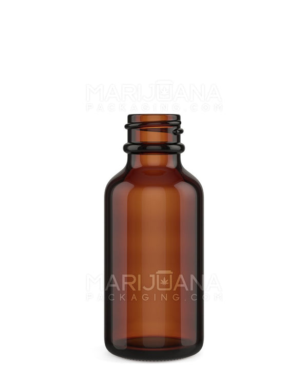 Amber Glass Dropper Bottle 1 oz - 360 Count | Dispensary Supply | Marijuana Packaging