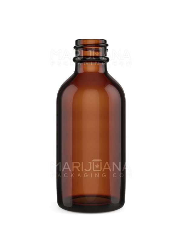 Amber Glass Dropper Bottle 2 oz - 240 Count | Dispensary Supply | Marijuana Packaging