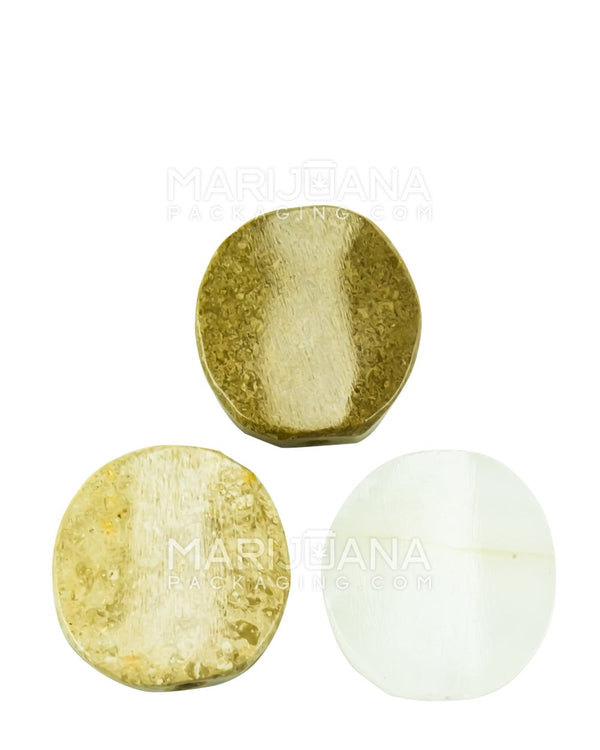 Assorted Marble Smoking Stones - 1.575"
