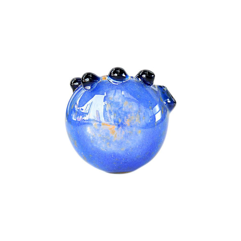 Assorted Multi Knocker 2 Color Frit Hand Pipe 4.5""