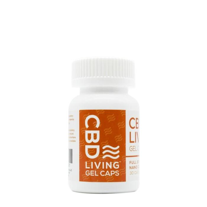 CBD Living Gel Capsules 5mg - 30 Count