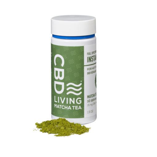 CBD Living Loose Leaf Matcha Tea - 150 mg