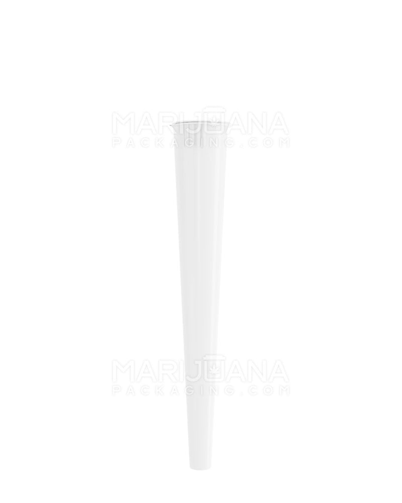 Child Resistant | Conical Pop Top Pre-Roll Tubes | 109mm - Opaque White Plastic - 1000 Count | Dispensary Supply | Marijuana Packaging