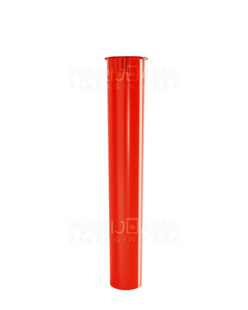 Child Resistant | King Size Pop Top Pre-Roll Tubes | 116mm - Opaque Red Plastic - 1000 Count | Dispensary Supply | Marijuana Packaging