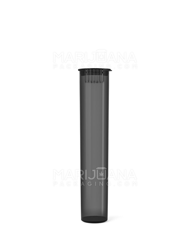 Child Resistant | Pop Top Pre-Roll Tubes | 95mm - Translucent Smoke Plastic - 1000 Count | Dispensary Supply | Marijuana Packaging