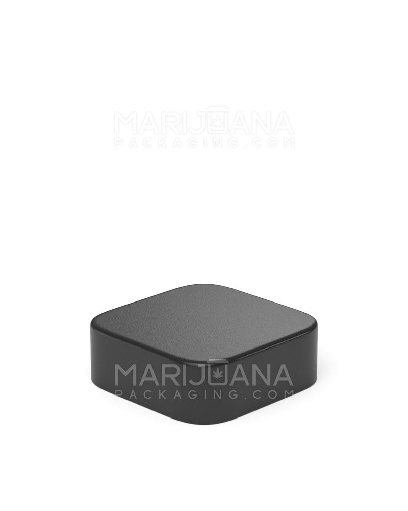 Child Resistant | Qube Black Glass Concentrate Jar with Black Cap | 24mm - 5ml - 250 Count | Dispensary Supply | Marijuana Packaging