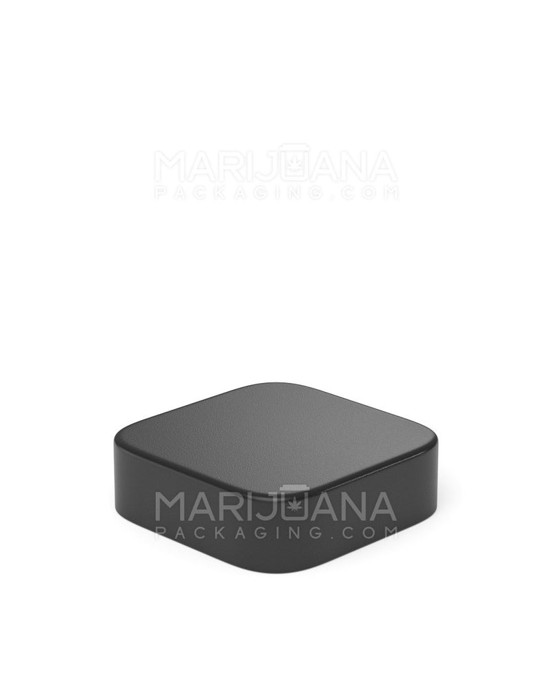 Child Resistant | Qube Clear Glass Concentrate Jar with Black Cap | 28mm - 9ml - 250 Count | Dispensary Supply | Marijuana Packaging