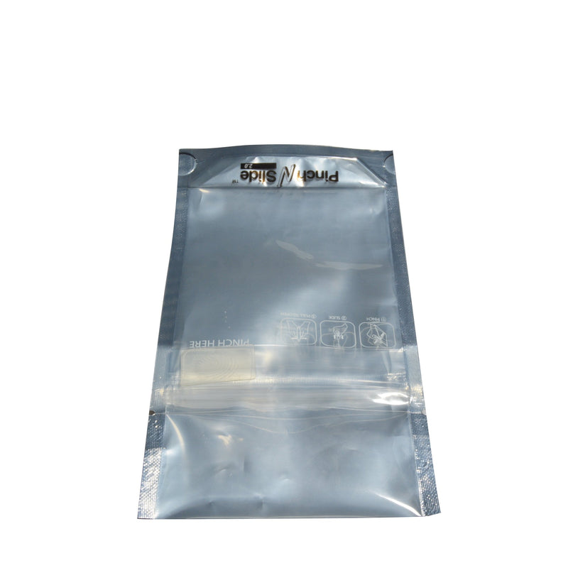 "Pinch N Slide 2.0 Child Resistant Mylar Bags - Black Vista - Fits 3.5g - 3.5"" x 5"" - 250 Count"